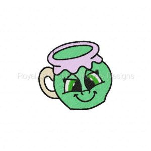 Royal Club Of Embroidery Designs - Machine Embroidery Patterns DD Living Mugs Set