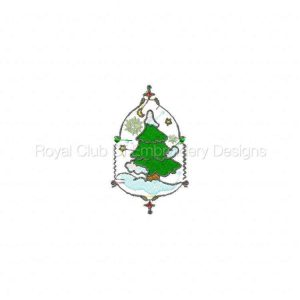 Royal Club Of Embroidery Designs - Machine Embroidery Patterns Deco Christmas 2 Set