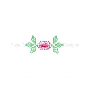 Royal Club Of Embroidery Designs - Machine Embroidery Patterns Delicate Fancy Necklines Set