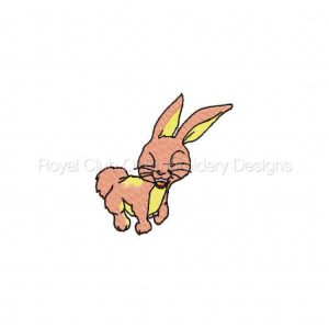 Royal Club Of Embroidery Designs - Machine Embroidery Patterns Delightful Bunnies Set