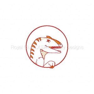 Royal Club Of Embroidery Designs - Machine Embroidery Patterns Dino Dynasty Set