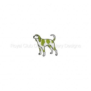 Royal Club Of Embroidery Designs - Machine Embroidery Patterns Dogs Set