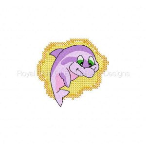 Royal Club Of Embroidery Designs - Machine Embroidery Patterns DD Dolphins Set