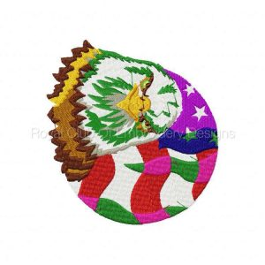 Royal Club Of Embroidery Designs - Machine Embroidery Patterns Eagles Set