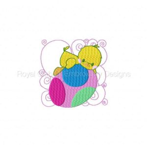 Royal Club Of Embroidery Designs - Machine Embroidery Patterns Easter Blocks Set