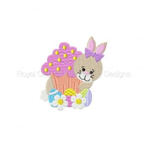 Royal Club Of Embroidery Designs - Machine Embroidery Patterns Easter Delight Set
