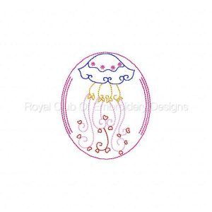 Royal Club Of Embroidery Designs - Machine Embroidery Patterns Easter Egg Sea Animals Set