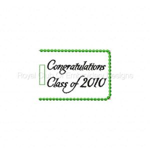 Royal Club Of Embroidery Designs - Machine Embroidery Patterns Easy Gift Card Holders Set