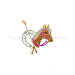 Royal Club Of Embroidery Designs - Machine Embroidery Patterns Equestrian Style Designs Set