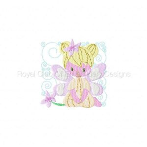 Royal Club Of Embroidery Designs - Machine Embroidery Patterns Fairy Blocks Set