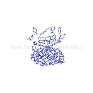 Royal Club Of Embroidery Designs - Machine Embroidery Patterns Fall Fun Set