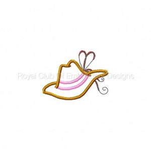 Royal Club Of Embroidery Designs - Machine Embroidery Patterns Fancy Cowgirl Applique Set
