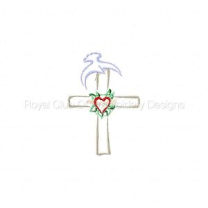 Royal Club Of Embroidery Designs - Machine Embroidery Patterns Fancy Easter Embellishments Set