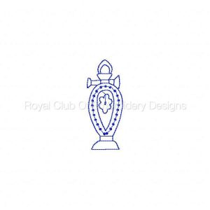Royal Club Of Embroidery Designs - Machine Embroidery Patterns Fancy Vintage Redwork Set