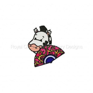 Royal Club Of Embroidery Designs - Machine Embroidery Patterns DD Fan Peekers Set