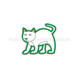 Royal Club Of Embroidery Designs - Machine Embroidery Patterns Farm Animal Applique Set