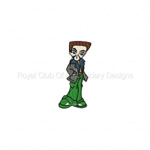 Royal Club Of Embroidery Designs - Machine Embroidery Patterns Fashion Krew Set