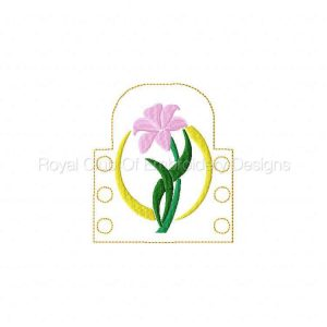 Royal Club Of Embroidery Designs - Machine Embroidery Patterns Felt Tea Light Wraps Set