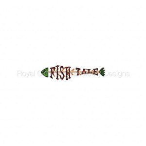 Royal Club Of Embroidery Designs - Machine Embroidery Patterns Fish Tales Set