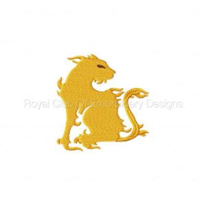 Royal Club Of Embroidery Designs - Machine Embroidery Patterns Flaming Cats Set