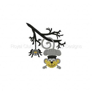 Royal Club Of Embroidery Designs - Machine Embroidery Patterns Franken Monkey Set