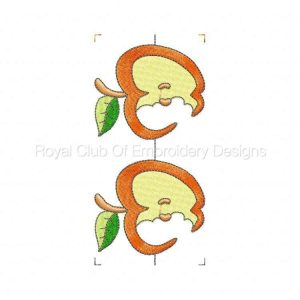Royal Club Of Embroidery Designs - Machine Embroidery Patterns Fruit Borders Set