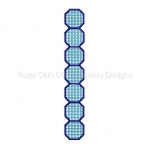Royal Club Of Embroidery Designs - Machine Embroidery Patterns FSL Bracelets and Charms Set