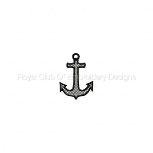 Royal Club Of Embroidery Designs - Machine Embroidery Patterns FSL Earrings Charms and Pendants Set