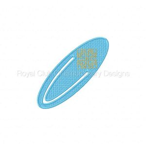 Royal Club Of Embroidery Designs - Machine Embroidery Patterns FSL Clip Bookmarkers Set