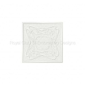 Royal Club Of Embroidery Designs - Machine Embroidery Patterns FSL Floral Blocks Set