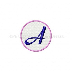 Royal Club Of Embroidery Designs - Machine Embroidery Patterns FSL Monogram Lace Set