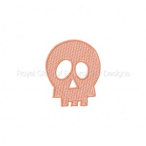 Royal Club Of Embroidery Designs - Machine Embroidery Patterns FSL Skeleton And Skulls Set