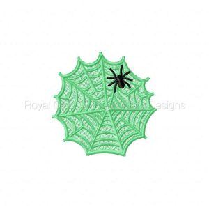 Royal Club Of Embroidery Designs - Machine Embroidery Patterns FSL Spider Webs Set