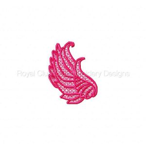 Royal Club Of Embroidery Designs - Machine Embroidery Patterns FSL Wings Set