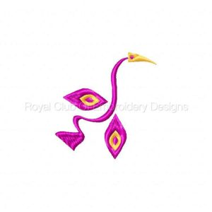 Royal Club Of Embroidery Designs - Machine Embroidery Patterns Fun Shapes Set