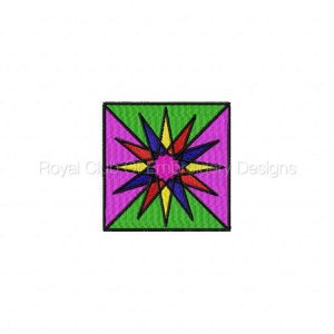 Royal Club Of Embroidery Designs - Machine Embroidery Patterns Geometric Blocks Set