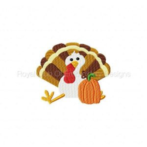 Royal Club Of Embroidery Designs - Machine Embroidery Patterns Give Thanks Set