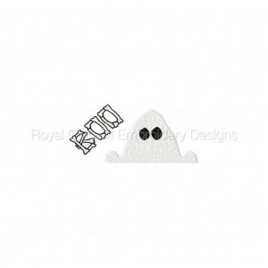 Royal Club Of Embroidery Designs - Machine Embroidery Patterns Halloween Toppers Set