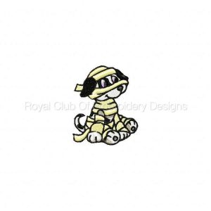 Royal Club Of Embroidery Designs - Machine Embroidery Patterns Halloween Puppies Set