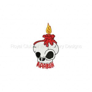 Royal Club Of Embroidery Designs - Machine Embroidery Patterns Cute Halloween Sayings Set