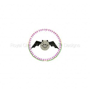 Royal Club Of Embroidery Designs - Machine Embroidery Patterns Halloween Sucker Covers 2 Set