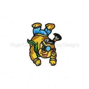 Royal Club Of Embroidery Designs - Machine Embroidery Patterns DD Hanging Pirates Set