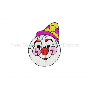 Royal Club Of Embroidery Designs - Machine Embroidery Patterns Happy Clowns Set