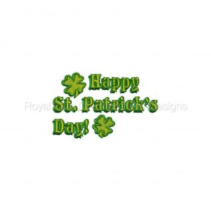 Royal Club Of Embroidery Designs - Machine Embroidery Patterns Happy St Pattys Day Set