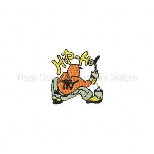 Royal Club Of Embroidery Designs - Machine Embroidery Patterns Hip Hop Posse Set