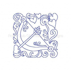 Royal Club Of Embroidery Designs - Machine Embroidery Patterns Holidays Quilt Blocks Set