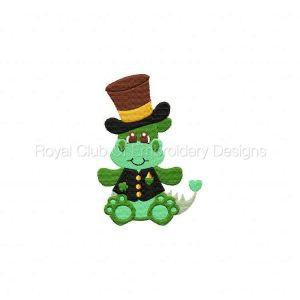 Royal Club Of Embroidery Designs - Machine Embroidery Patterns Irish Dragons Set