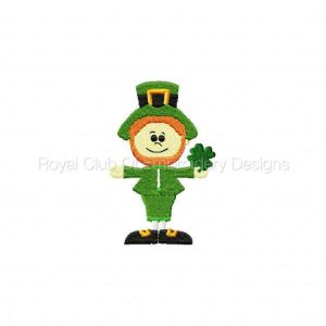 Royal Club Of Embroidery Designs - Machine Embroidery Patterns Irish Dreams Set