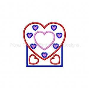Royal Club Of Embroidery Designs - Machine Embroidery Patterns In The Hoop Love Box Set
