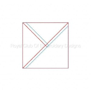 Royal Club Of Embroidery Designs - Machine Embroidery Patterns In The Hoop Quilt Block Piecing 2 Set